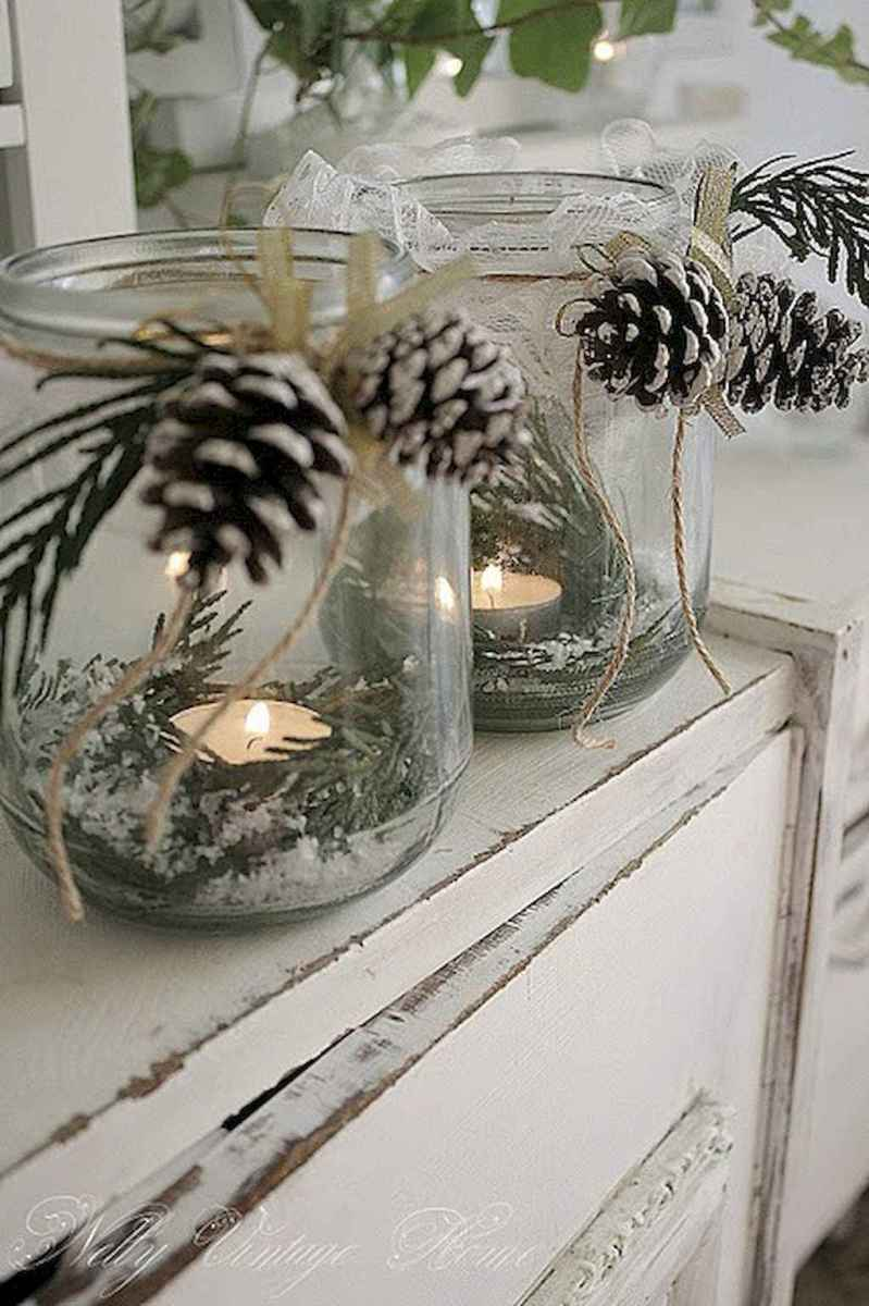 45 Best Christmas Decorations Outdoor Pine Cones Ideas (7)