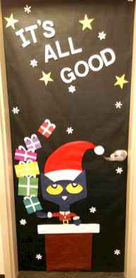 50 Simple DIY Christmas Door Decorations For Home And School (6)