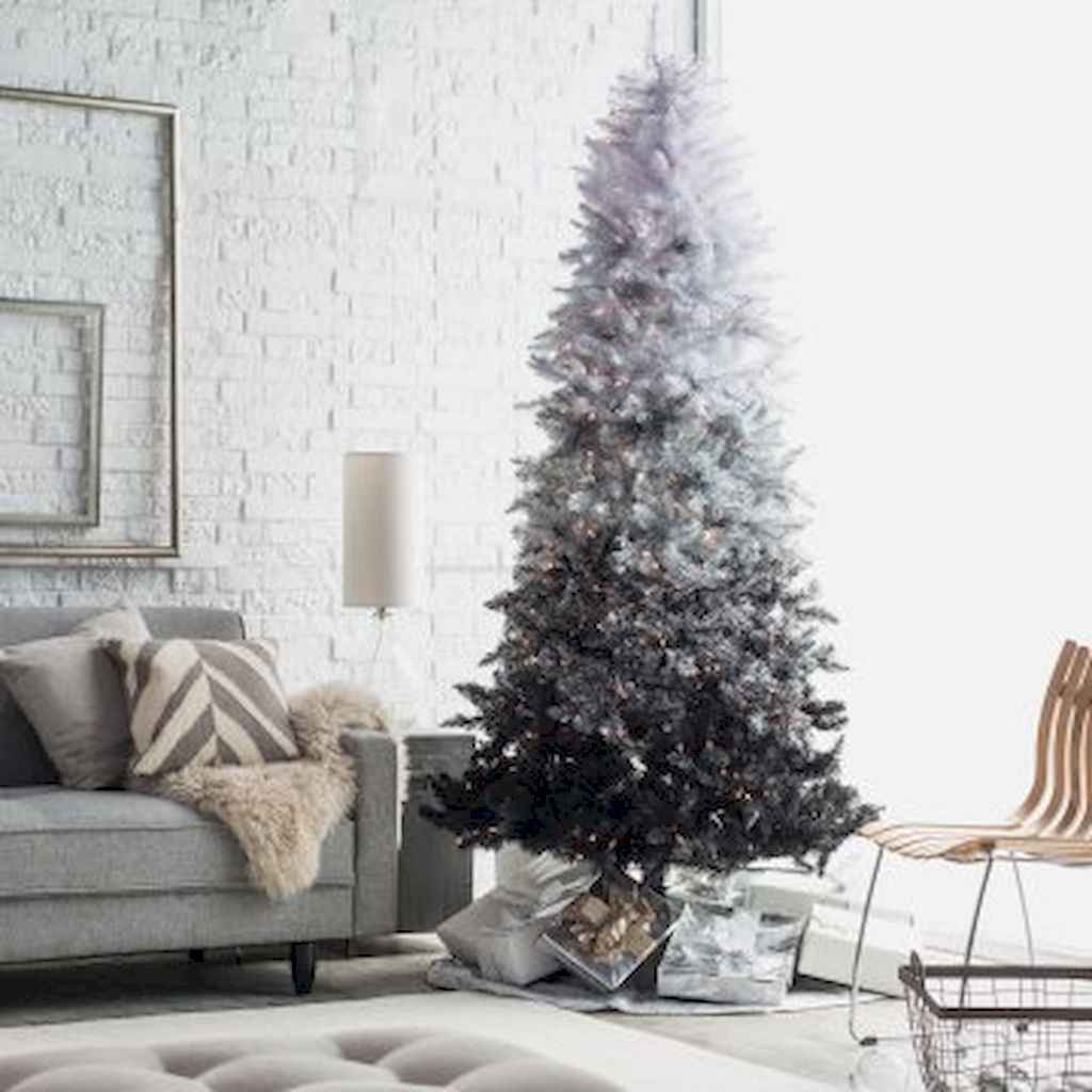 50 Stunning Modern Christmas Tree Decorations (7)