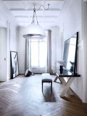111 Beautiful Parisian Chic Apartment Decor Ideas (57)
