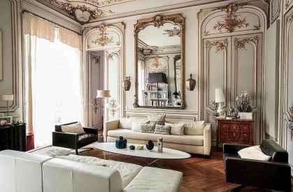 111 Beautiful Parisian Chic Apartment Decor Ideas (86)