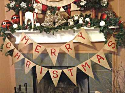16 Christmas Decorations Ideas For First Apartment (14)