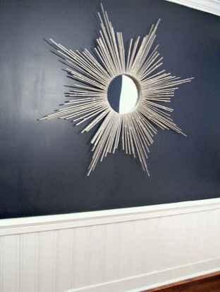 22 Stunning DIY Painted Mirror Designs Ideas (18)
