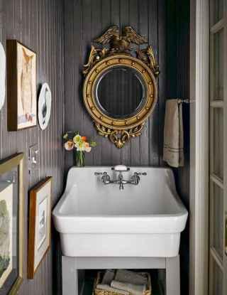 22 Stunning DIY Painted Mirror Designs Ideas (19)