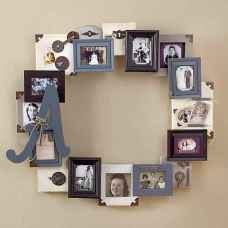 40 DIY Family Photos Display Ideas For Apartment Decor (32)