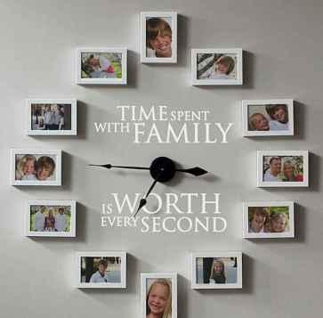 40 DIY Family Photos Display Ideas For Apartment Decor (36)