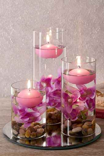 40 DIY Floating Candles Crafts Ideas (38)