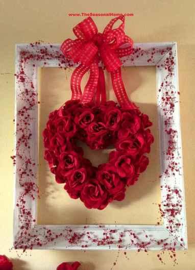 40 Romantic Valentines Decorations Dollar Tree Ideas On A Budget (38)