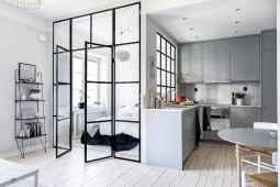 50 Amazing Small Apartment Kitchen Decor Ideas (20)