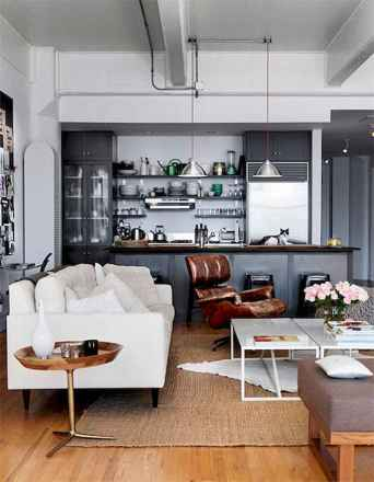 50 Amazing Small Apartment Kitchen Decor Ideas (30)