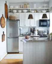 50 Amazing Small Apartment Kitchen Decor Ideas (7)