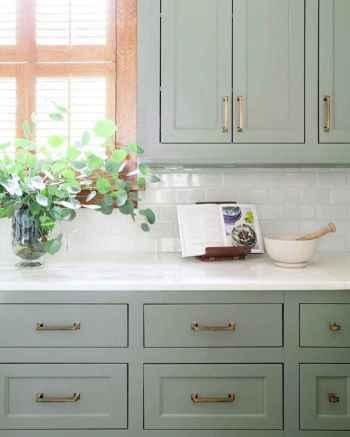 50 Fabulous Apartment Kitchen Cabinets Decor Ideas (26)