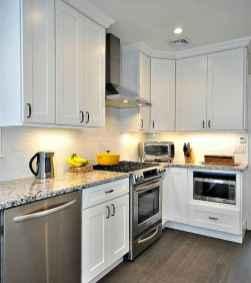 50 Fabulous Apartment Kitchen Cabinets Decor Ideas (46)