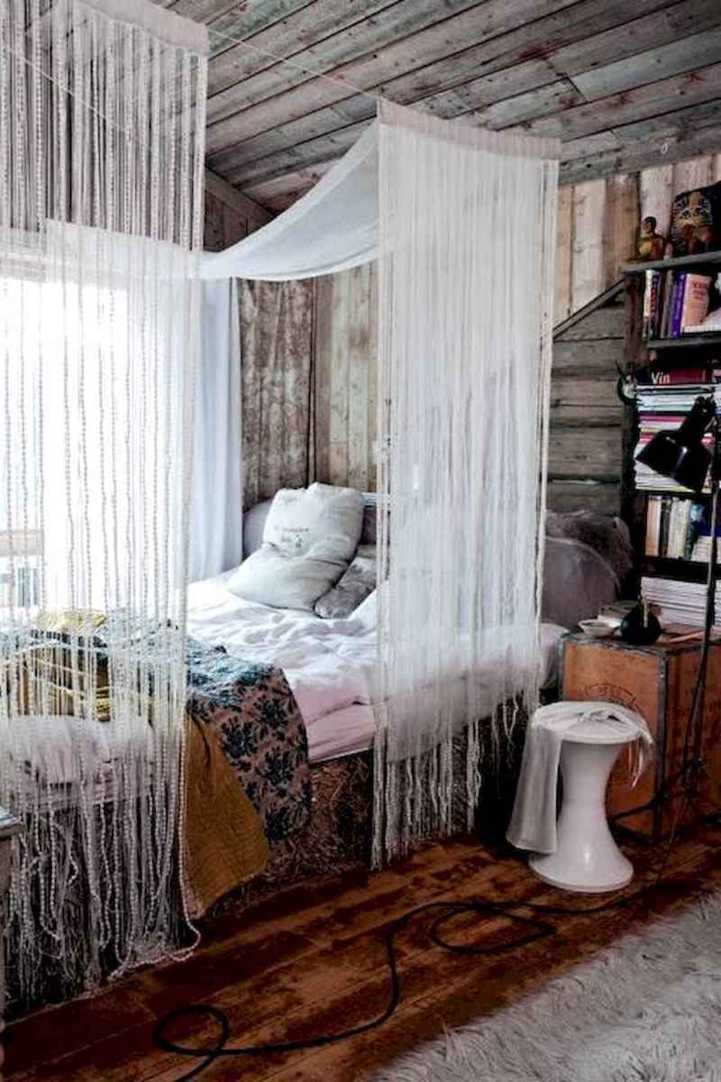 50 Incredible Apartment Bedroom Decor Ideas With Boho Style (15)