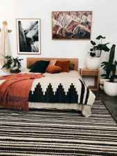 50 Incredible Apartment Bedroom Decor Ideas With Boho Style (28)