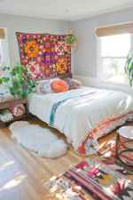 50 Incredible Apartment Bedroom Decor Ideas With Boho Style (37)