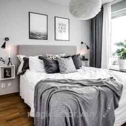 50 Incredible Apartment Bedroom Decor Ideas With Boho Style (5)