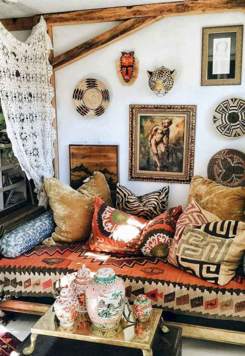 50 Incredible Apartment Bedroom Decor Ideas With Boho Style (51)