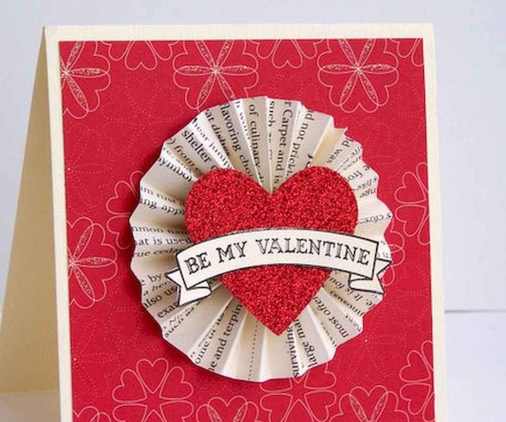 50 Romantic Valentines Cards Design Ideas (14)