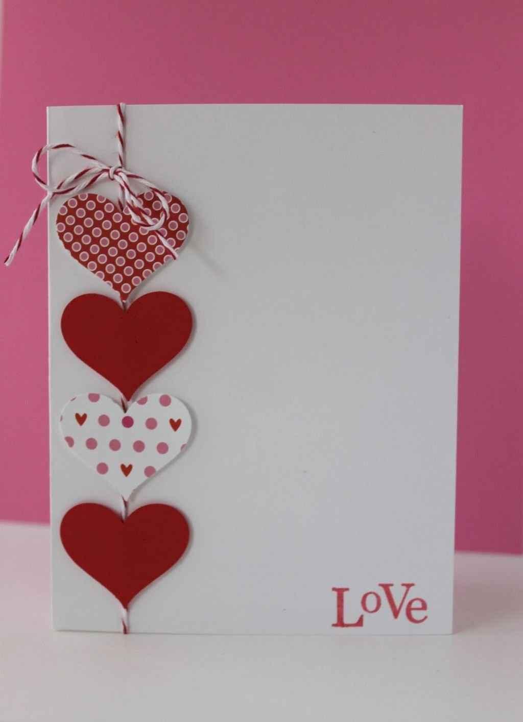 50 Romantic Valentines Cards Design Ideas (26)
