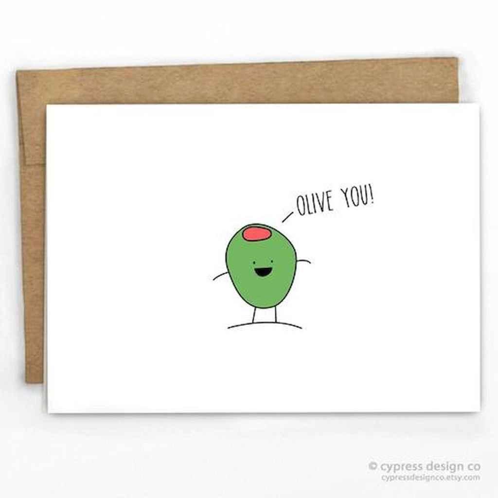 50 Romantic Valentines Cards Design Ideas (35)