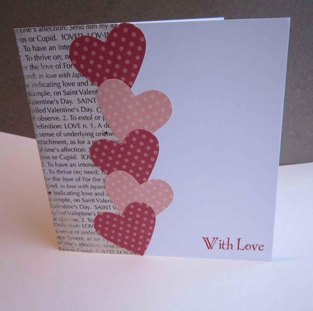 50 Romantic Valentines Cards Design Ideas (36)
