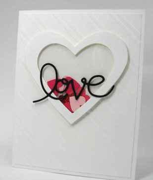 50 Romantic Valentines Cards Design Ideas (39)