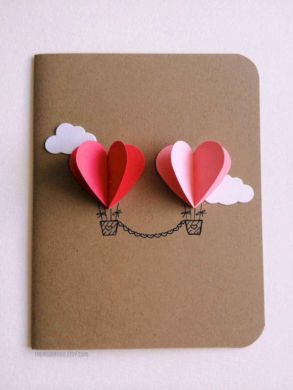 50 Romantic Valentines Cards Design Ideas (43)