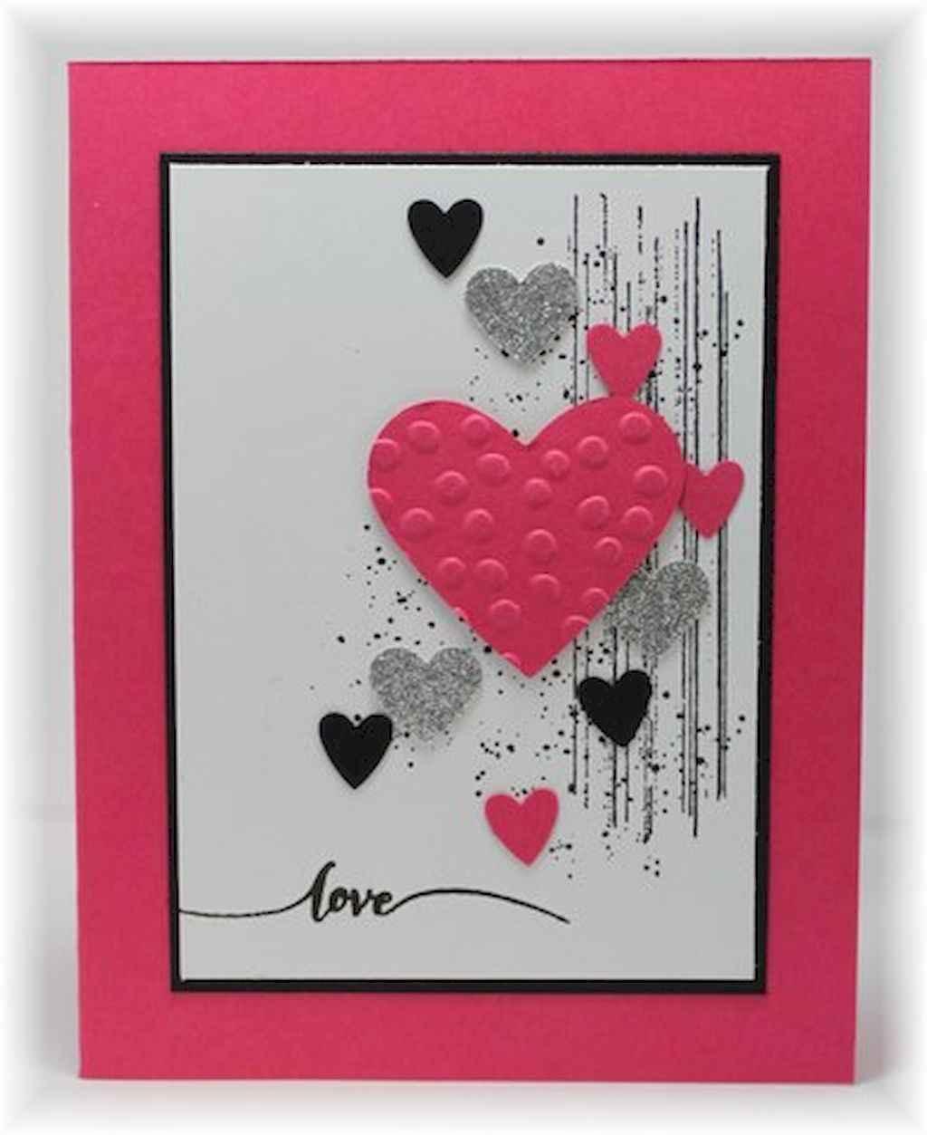 50 Romantic Valentines Cards Design Ideas (49)