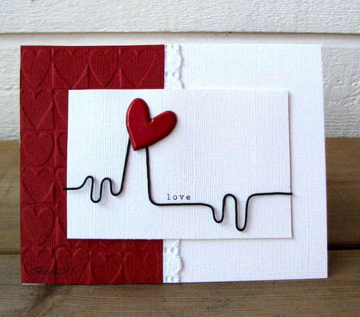 50 Romantic Valentines Cards Design Ideas (50)