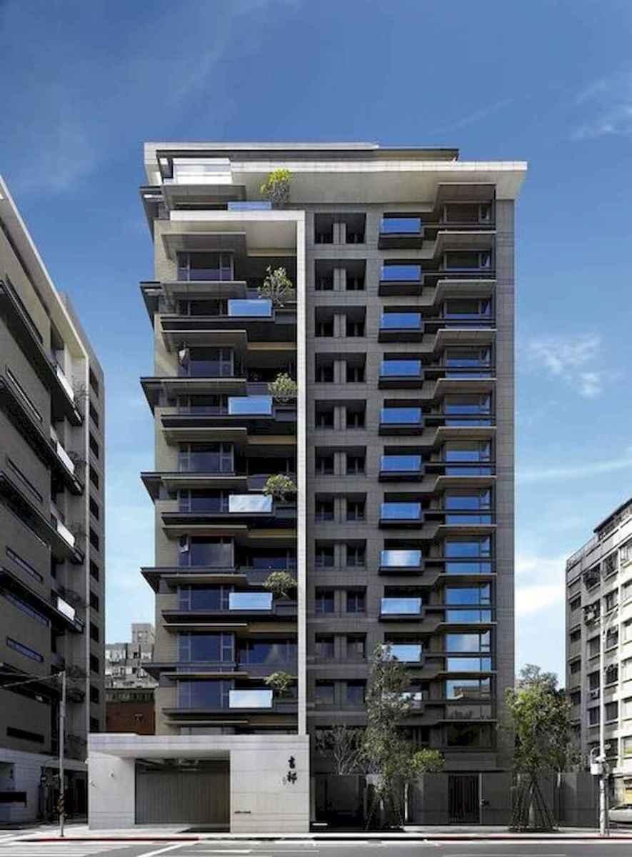 50 marvelous Modern Facade Apartment Decor Ideas (15)