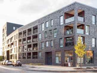50 marvelous Modern Facade Apartment Decor Ideas (35)