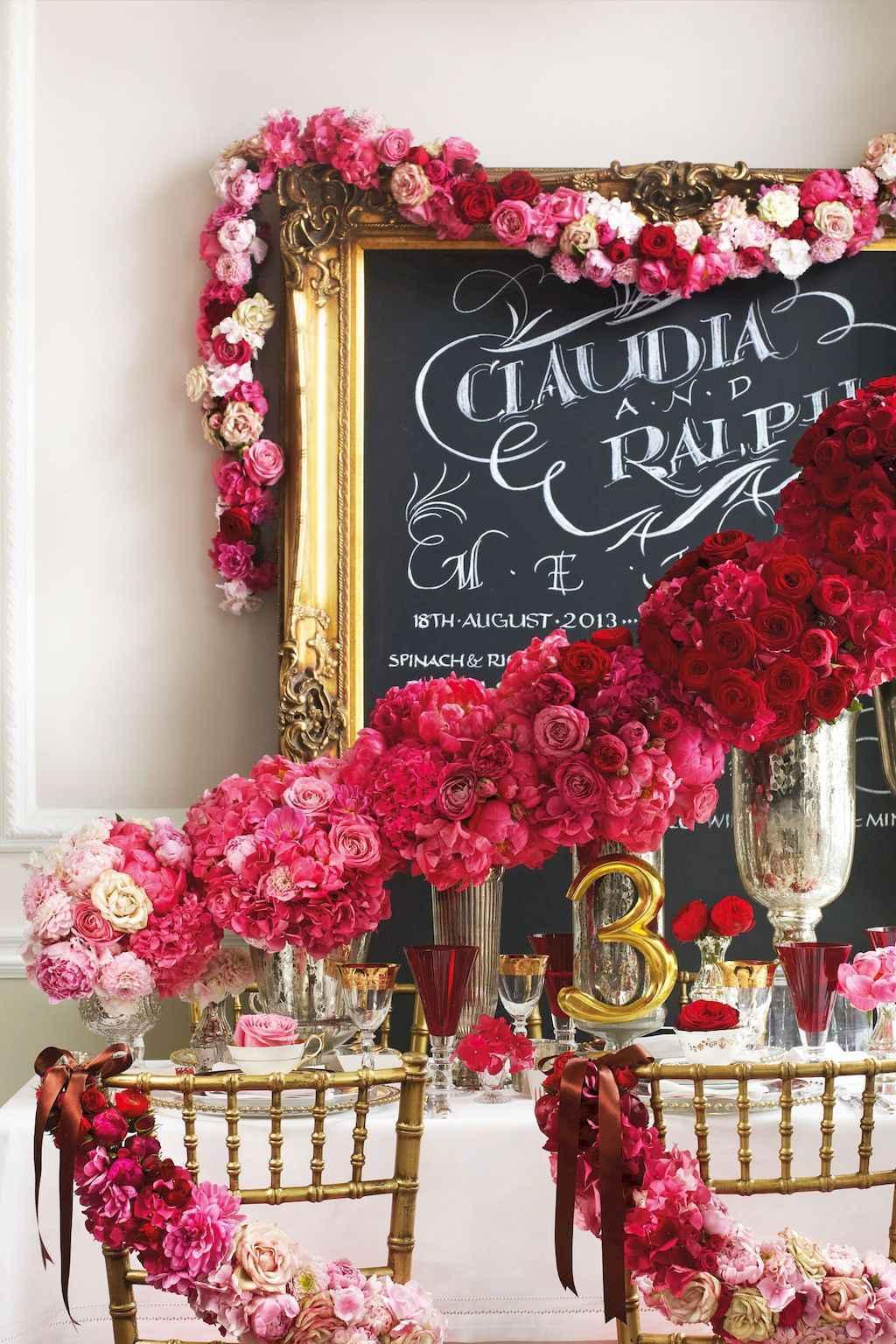 66 Romantic Valentines Table Settings Decor Ideas (31)