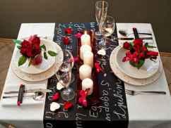 66 Romantic Valentines Table Settings Decor Ideas (38)