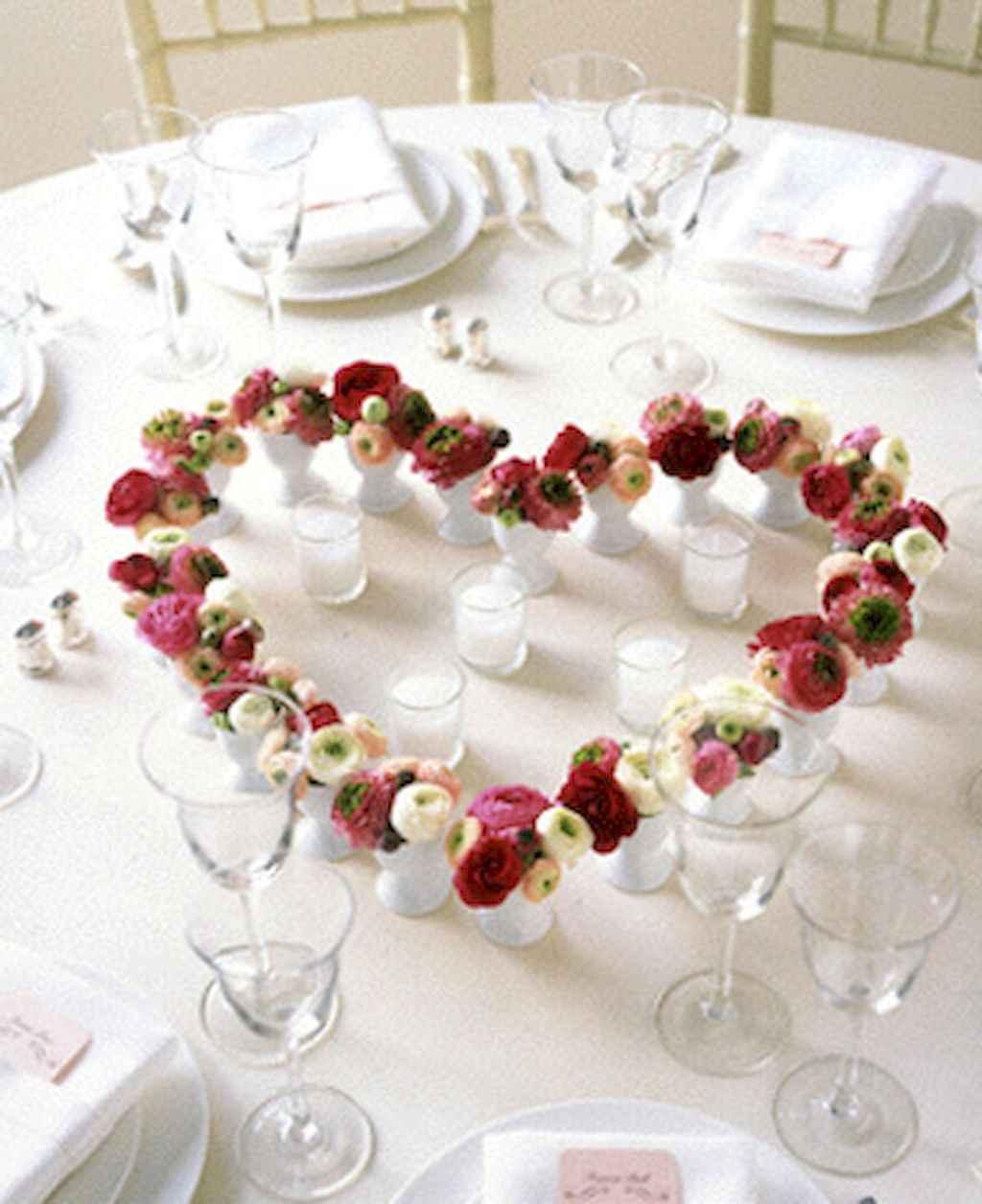 66 Romantic Valentines Table Settings Decor Ideas (43)