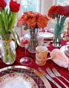 66 Romantic Valentines Table Settings Decor Ideas (47)