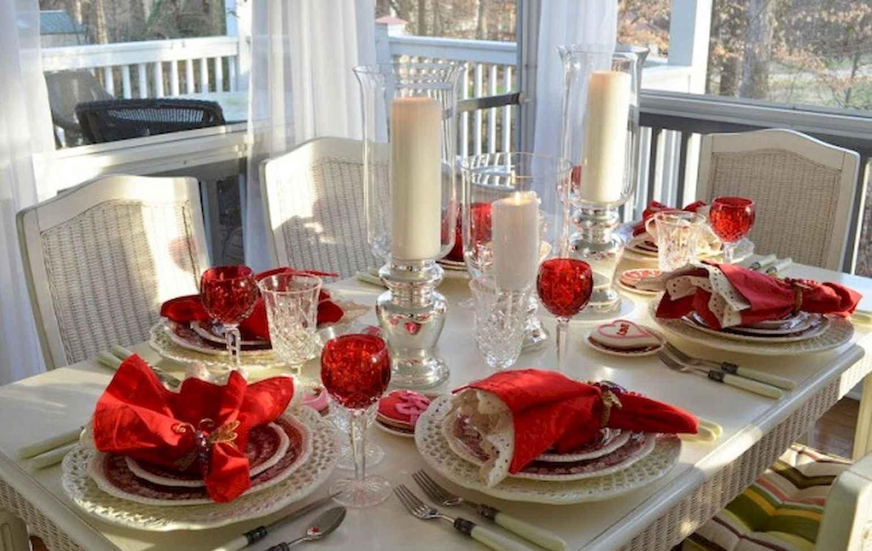 66 Romantic Valentines Table Settings Decor Ideas (59)