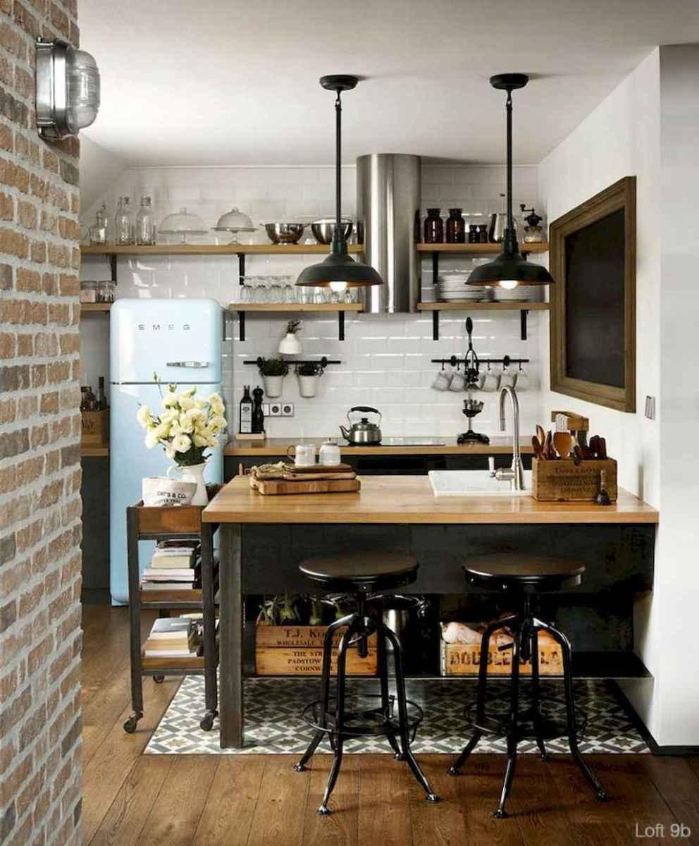 70 Cool Modern Apartment Kitchen Decor Ideas (18 ...