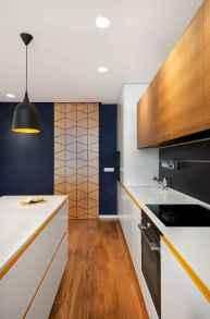 70 Cool Modern Apartment Kitchen Decor Ideas (26)