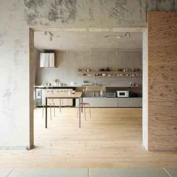 70 Cool Modern Apartment Kitchen Decor Ideas (58)