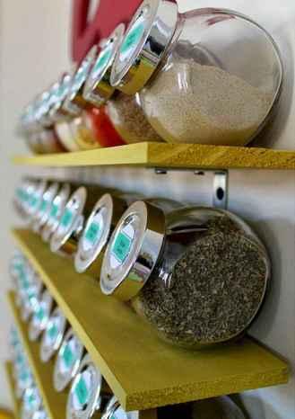 70 Surprising Apartment Kitchen Organization Decor Ideas (13)