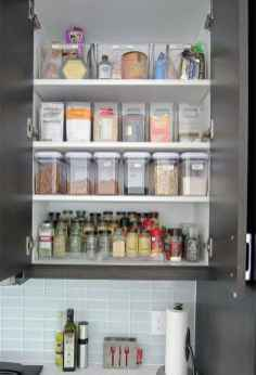 70 Surprising Apartment Kitchen Organization Decor Ideas (23)