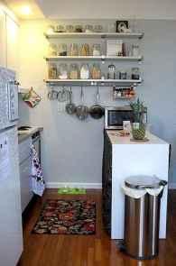 70 Surprising Apartment Kitchen Organization Decor Ideas (39)