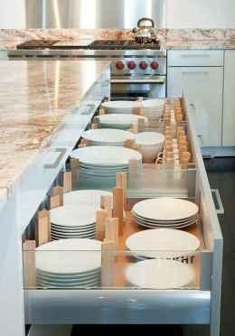70 Surprising Apartment Kitchen Organization Decor Ideas (45)