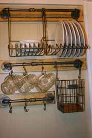 70 Surprising Apartment Kitchen Organization Decor Ideas (65)