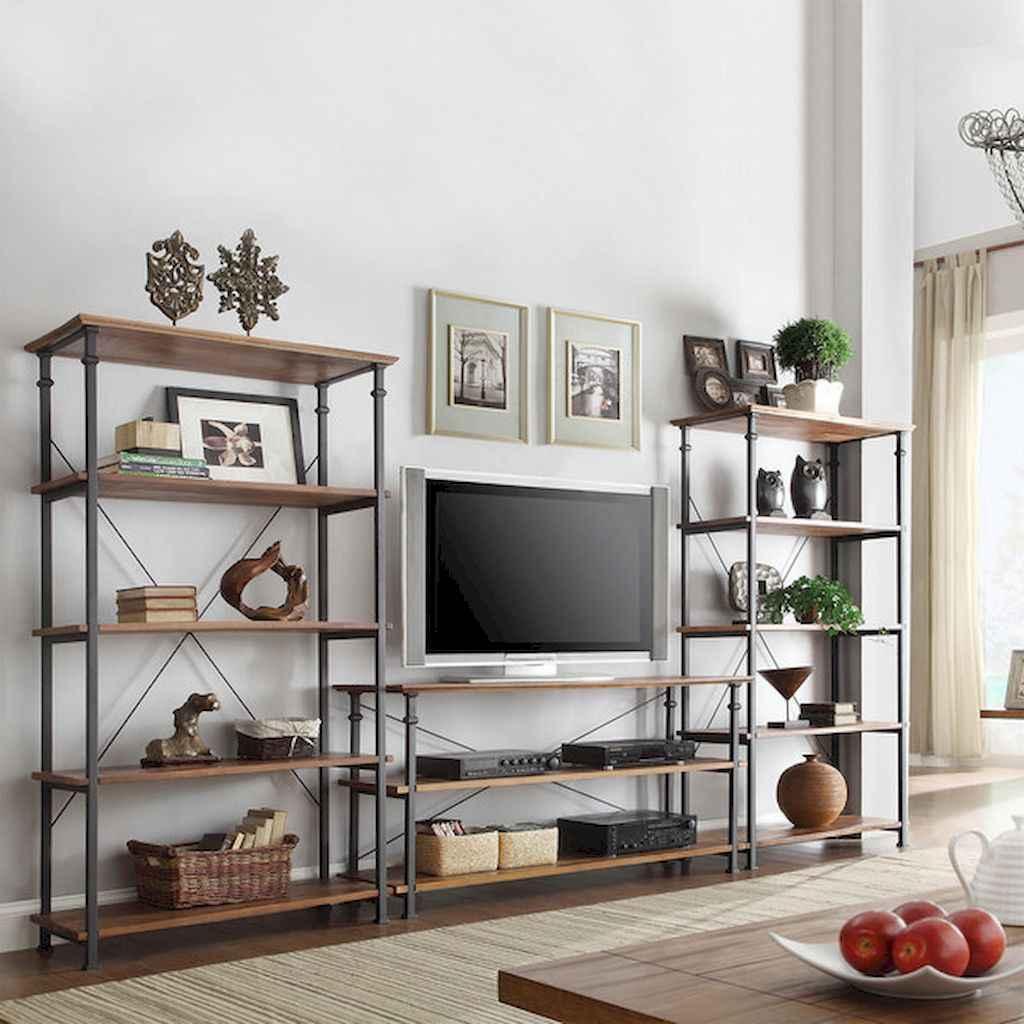 80 Pretty Modern Apartment Living Room Decor Ideas (16)