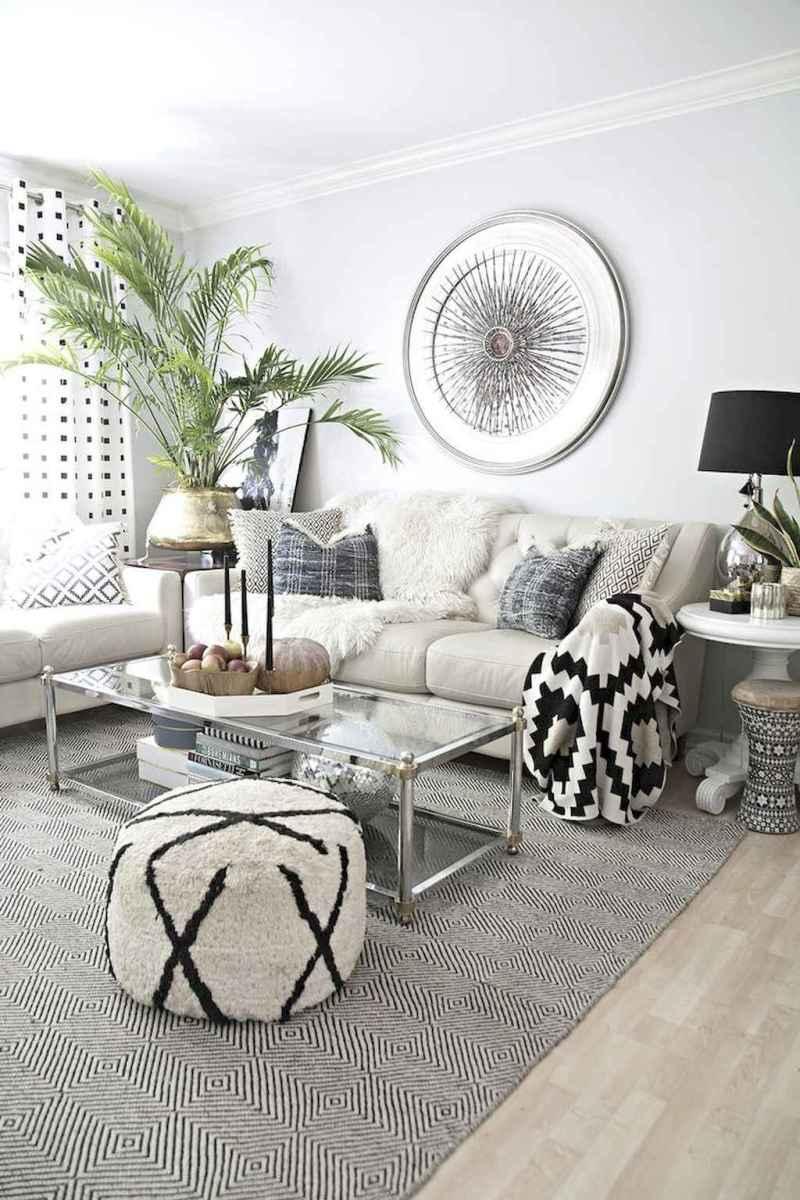 80 Pretty Modern Apartment Living Room Decor Ideas (34)