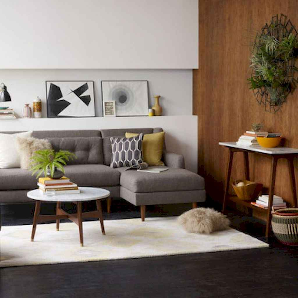 80 Pretty Modern Apartment Living Room Decor Ideas (51)