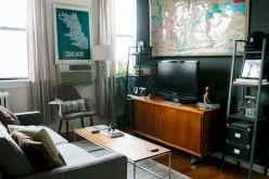 80 Smart Solution Small Apartment Living Room Decor Ideas (21)