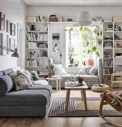 80 Smart Solution Small Apartment Living Room Decor Ideas (22)